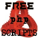 Free php scripts.